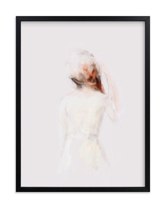 """The Figure"" - Art Print by Lori Wemple in beautiful frame options and a variety of sizes."