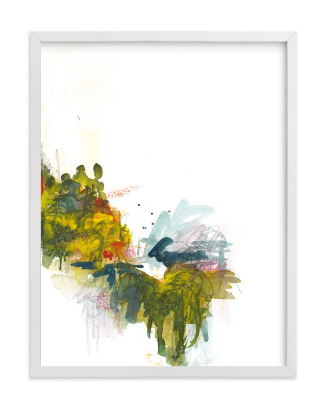 """Princeton Springs - Day 60"" - Art Print by Kathryn Neale in beautiful frame options and a variety of sizes."