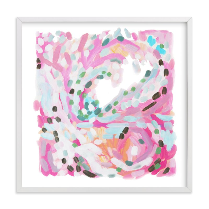 """in a moment"" - Art Print by Jennifer Hallock in beautiful frame options and a variety of sizes."