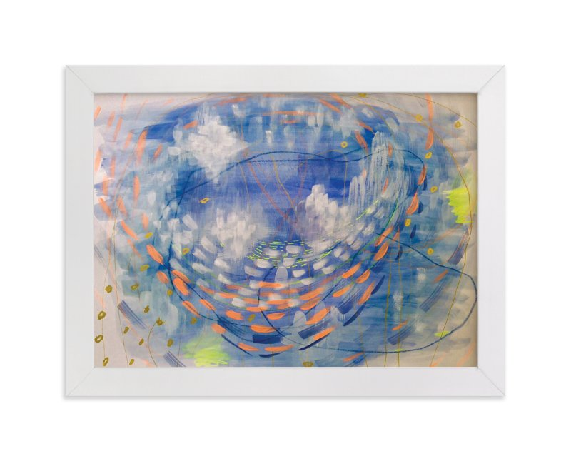 """Orbit"" - Art Print by Denise Wong in beautiful frame options and a variety of sizes."