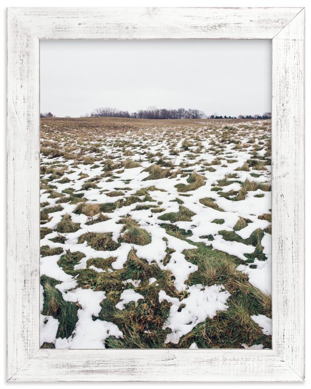 """Breaking Winter"" - Art Print by Kamala Nahas in beautiful frame options and a variety of sizes."