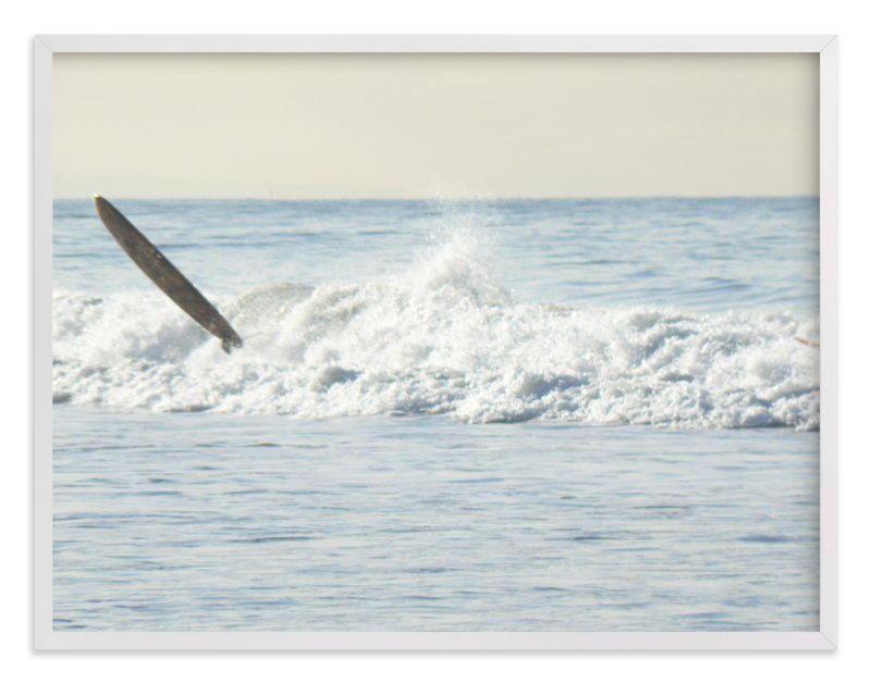 """""""Wipeout, Venice Beach"""" - Art Print by Annie Seaton in beautiful frame options and a variety of sizes."""
