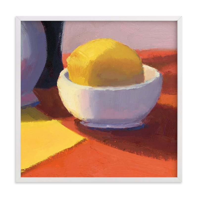 """Squeeze"" - Art Print by sue prue in beautiful frame options and a variety of sizes."
