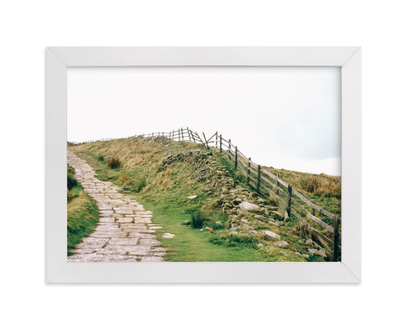 """Peak District No. 2"" - Art Print by lulu and isabelle in beautiful frame options and a variety of sizes."