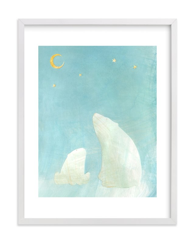 """Wonder"" - Limited Edition Art Print by Amelie Conger in beautiful frame options and a variety of sizes."