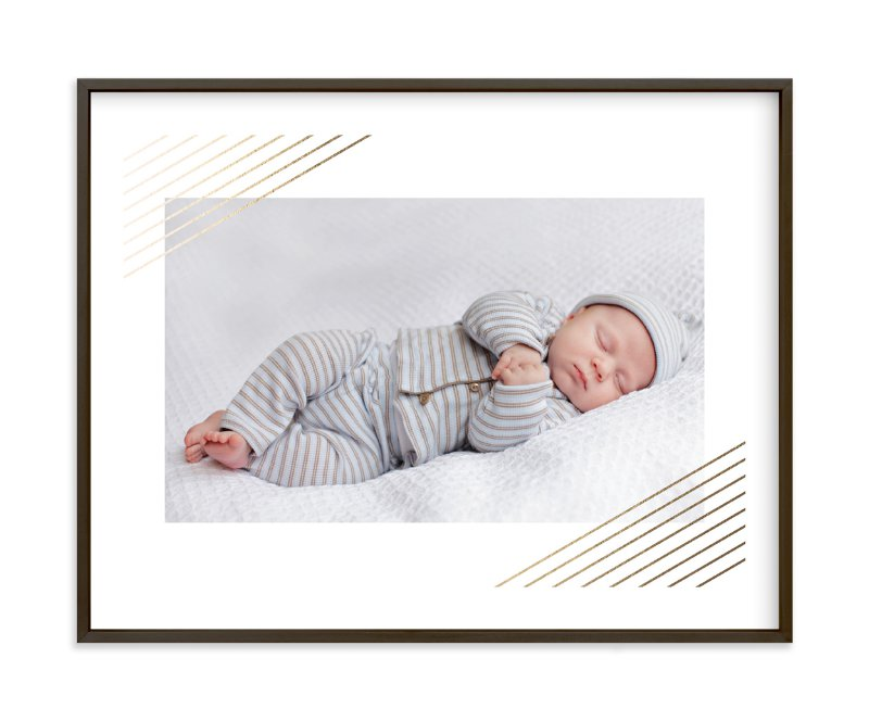 """""""Modern Shimmer"""" - Foil-pressed Children's Custom Photo Art Print by Alston Wise in beautiful frame options and a variety of sizes."""