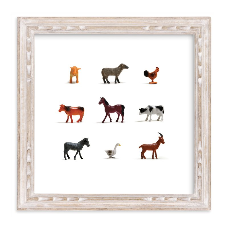 """""""I Bought the Farm"""" - Limited Edition Art Print by Shannon in beautiful frame options and a variety of sizes."""