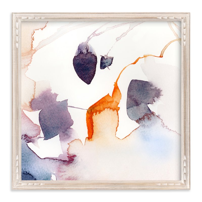 """Watercolor Abstract Flora Series : Fall 1"" - Art Print by Marta Spendowska in beautiful frame options and a variety of sizes."