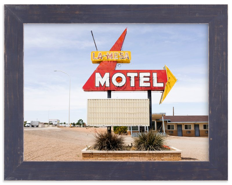 """Motel"" - Art Print by Andrea Ament in beautiful frame options and a variety of sizes."