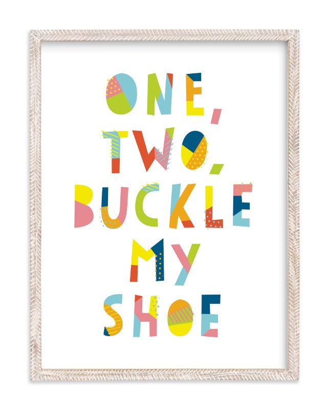"""Buckle My Shoe"" - Limited Edition Art Print by Ariel Rutland in beautiful frame options and a variety of sizes."
