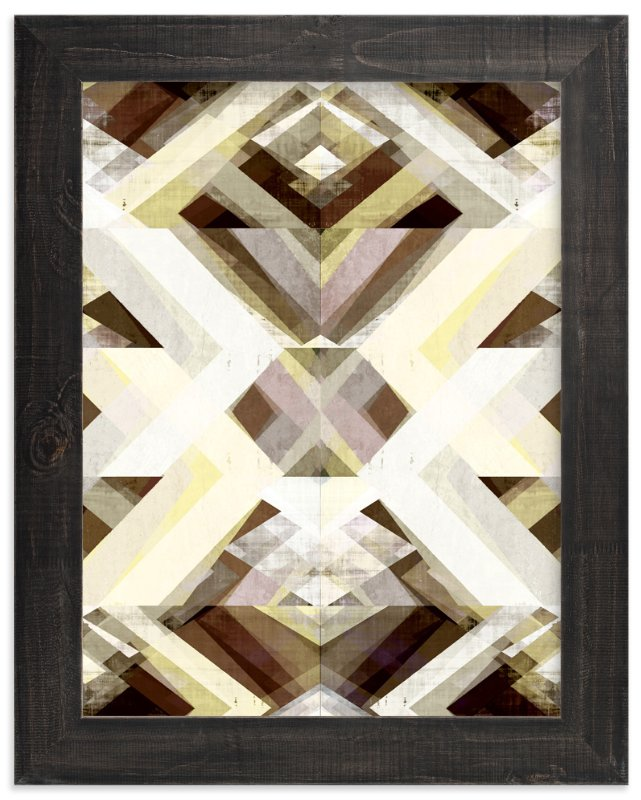 """""""Zig Zag 2"""" - Art Print by Amy Lighthall in beautiful frame options and a variety of sizes."""