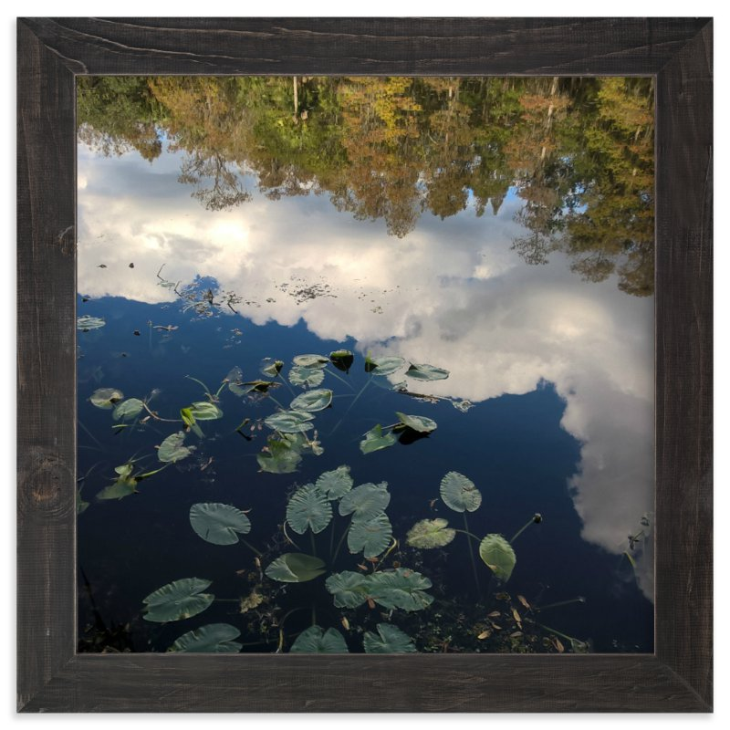 """""""River Reflections"""" - Art Print by Skoodler Designs in beautiful frame options and a variety of sizes."""