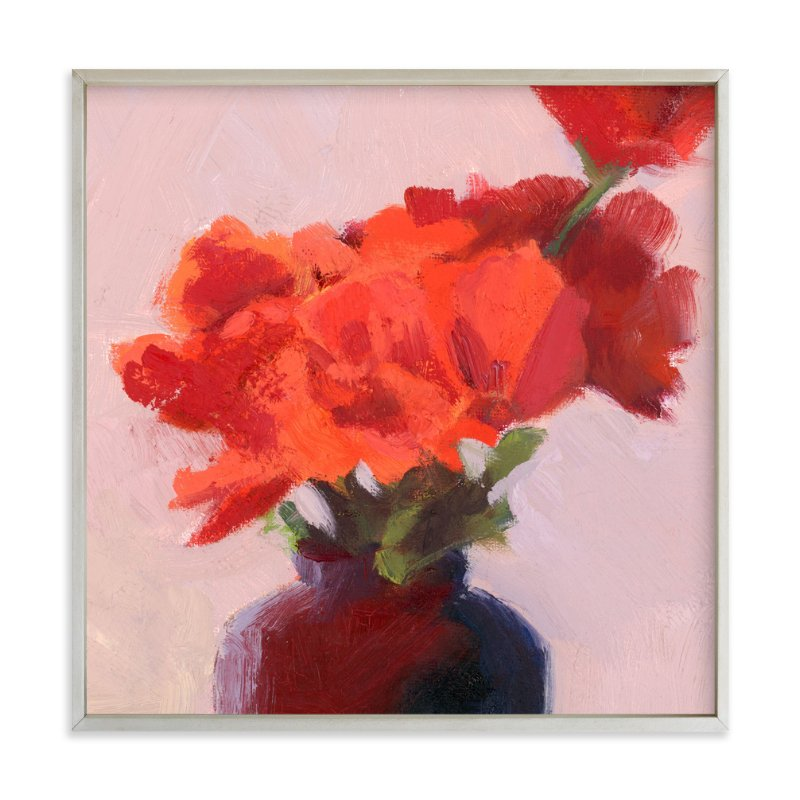 """""""Shades of Rosy"""" - Art Print by sue prue in beautiful frame options and a variety of sizes."""