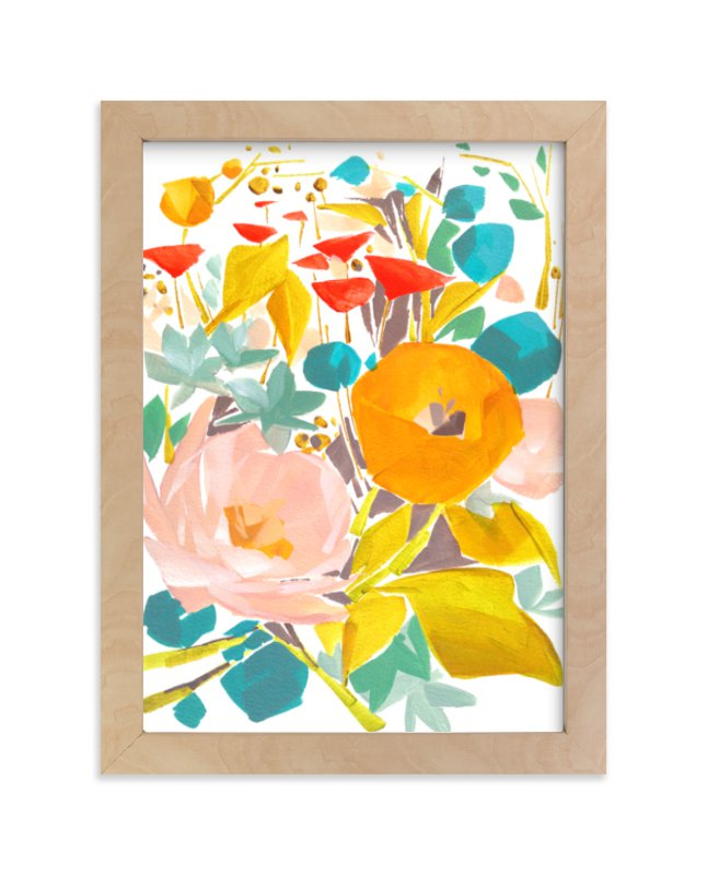 """""""Upward"""" - Limited Edition Art Print by Jess Franks in beautiful frame options and a variety of sizes."""