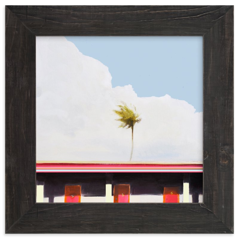 """MOTEL CALIFORNIA"" - Art Print by SETH SMITH in beautiful frame options and a variety of sizes."