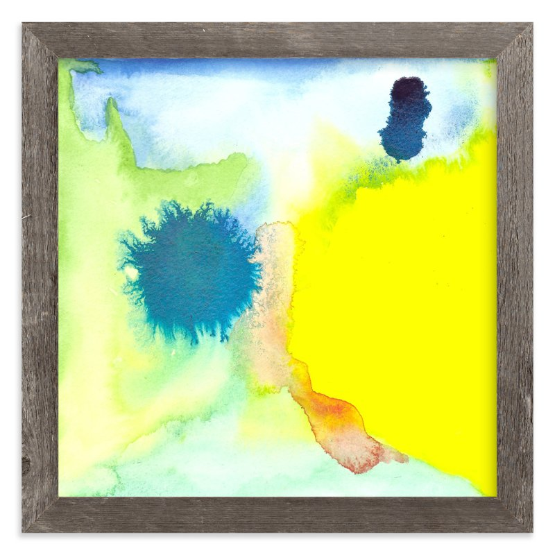 """""The Feeling of Being New"""" - Art Print by Laura Viapiano in beautiful frame options and a variety of sizes."