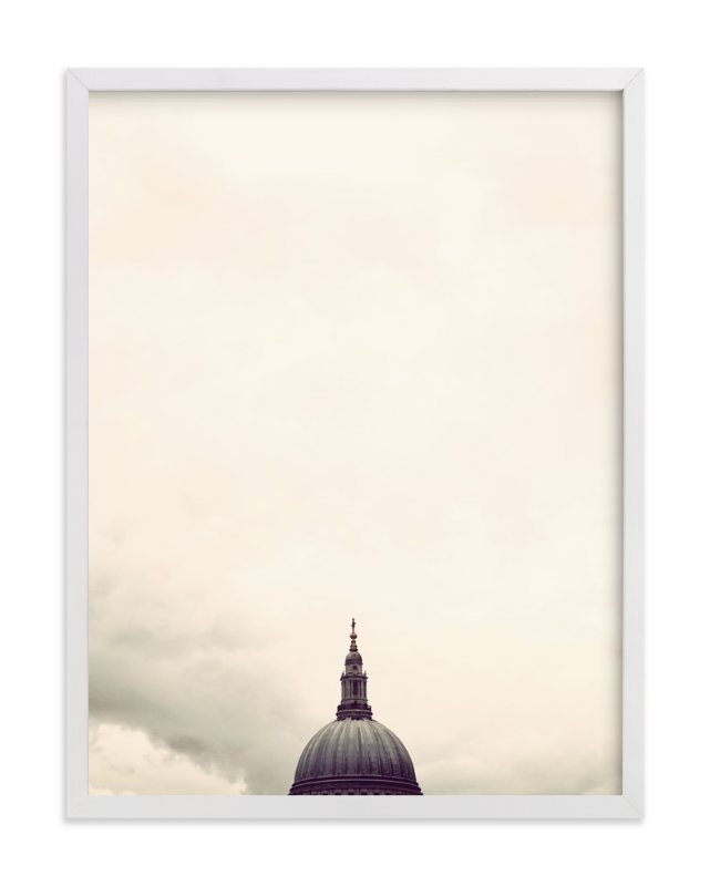 """St. Paul's Cathedral, London"" - Art Print by 45wall design in beautiful frame options and a variety of sizes."