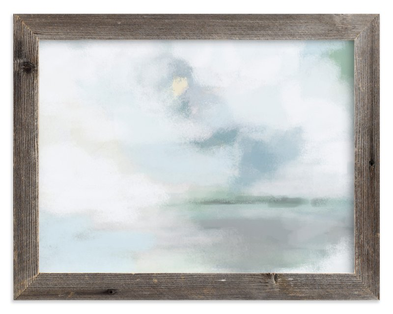 """""""Monday Blues"""" - Art Print by Alison Jerry Designs in beautiful frame options and a variety of sizes."""
