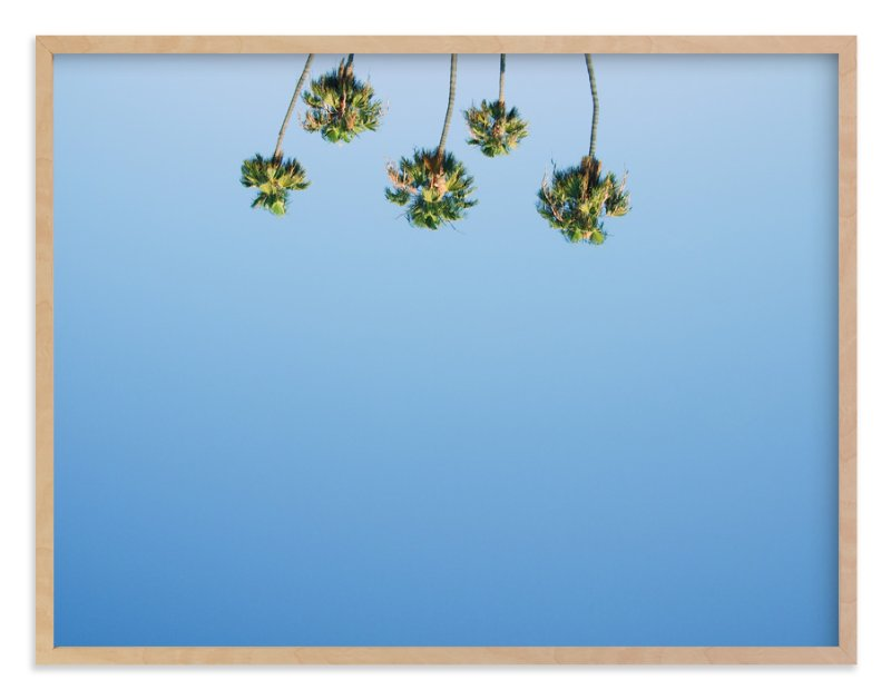 """""""Upside"""" - Art Print by Alexandra Nazari in beautiful frame options and a variety of sizes."""