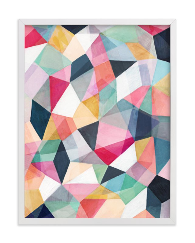 """""""Kaleidoscope No.1"""" - Art Print by Hooray Creative in beautiful frame options and a variety of sizes."""
