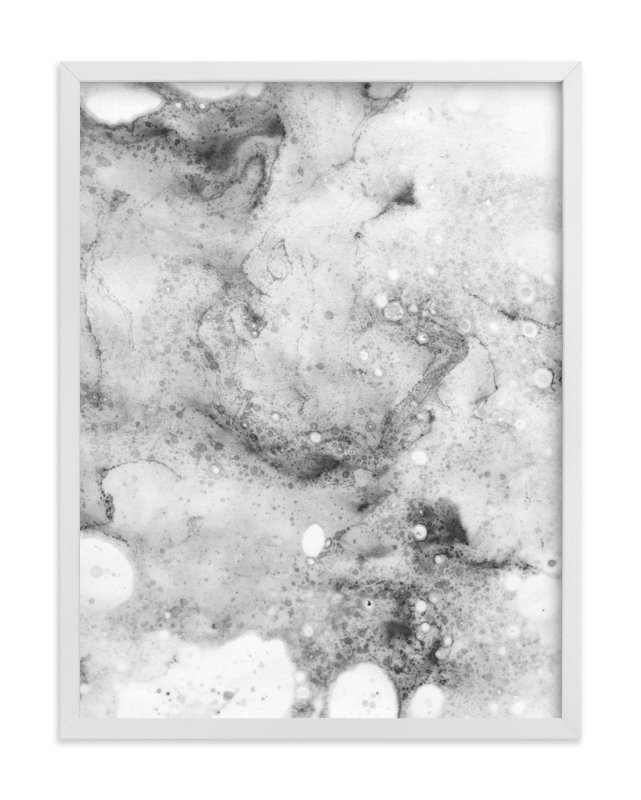 """Marble Two"" - Art Print by Melissa Selmin in beautiful frame options and a variety of sizes."