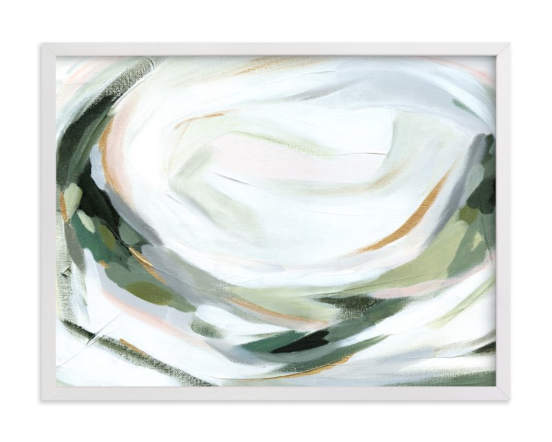 """Abstract Laurel"" - Art Print by Melanie Severin in beautiful frame options and a variety of sizes."