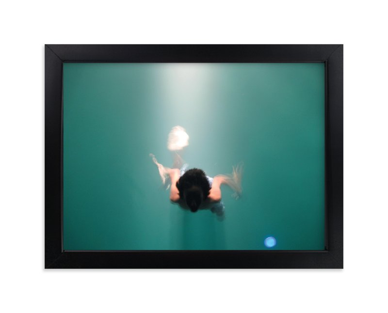 """""""Pool Illumination"""" - Art Print by Georgia Tankard in beautiful frame options and a variety of sizes."""