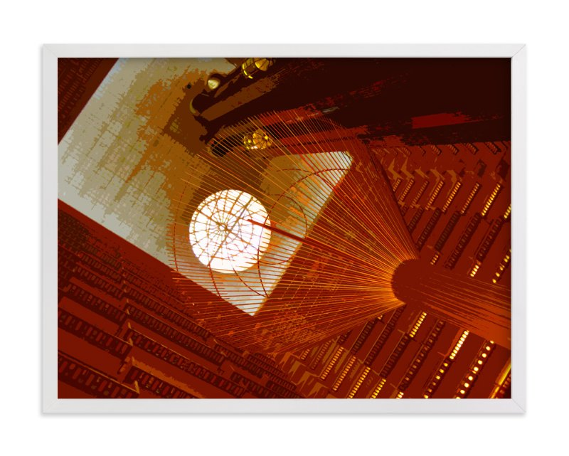 """Hotel Atrium"" - Art Print by Jeff Preuss in beautiful frame options and a variety of sizes."