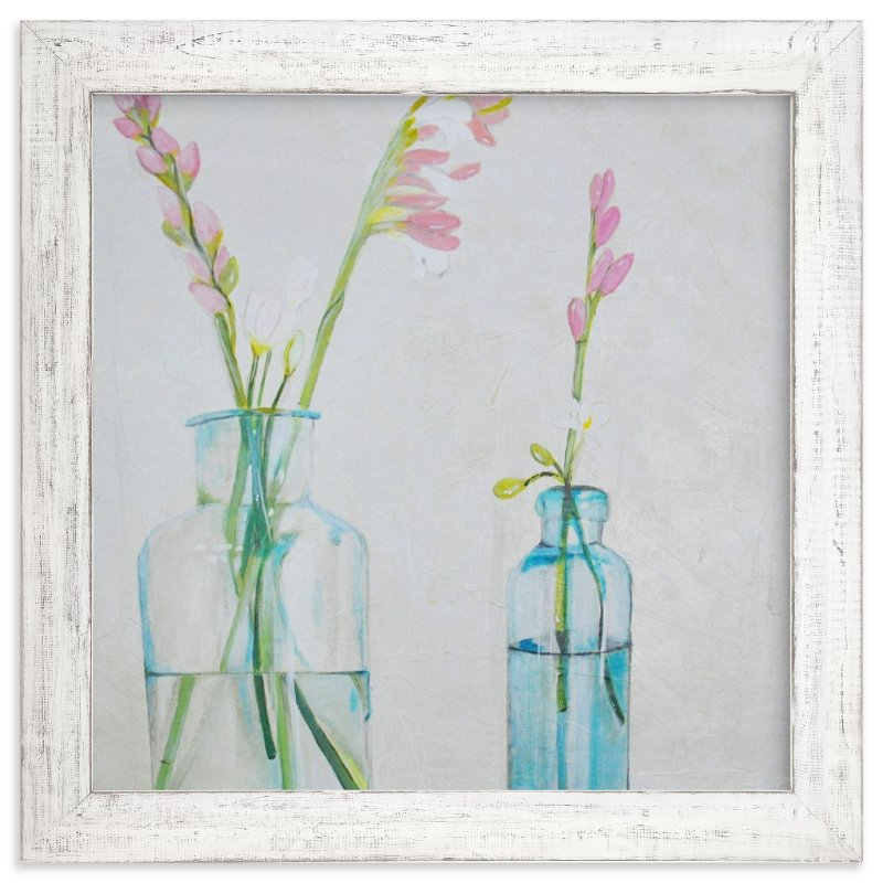 """""""Gladiolus"""" - Art Print by Chandana in beautiful frame options and a variety of sizes."""