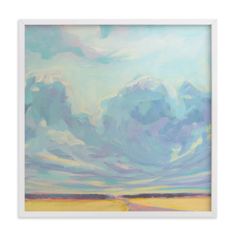 """Big Sky Country"" - Art Print by Vicki Rawlins in beautiful frame options and a variety of sizes."
