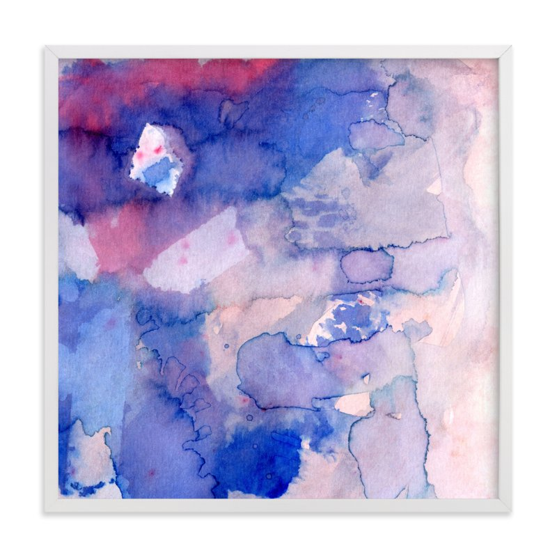 """""""Sky Fields 2"""" - Art Print by Me Amelia in beautiful frame options and a variety of sizes."""