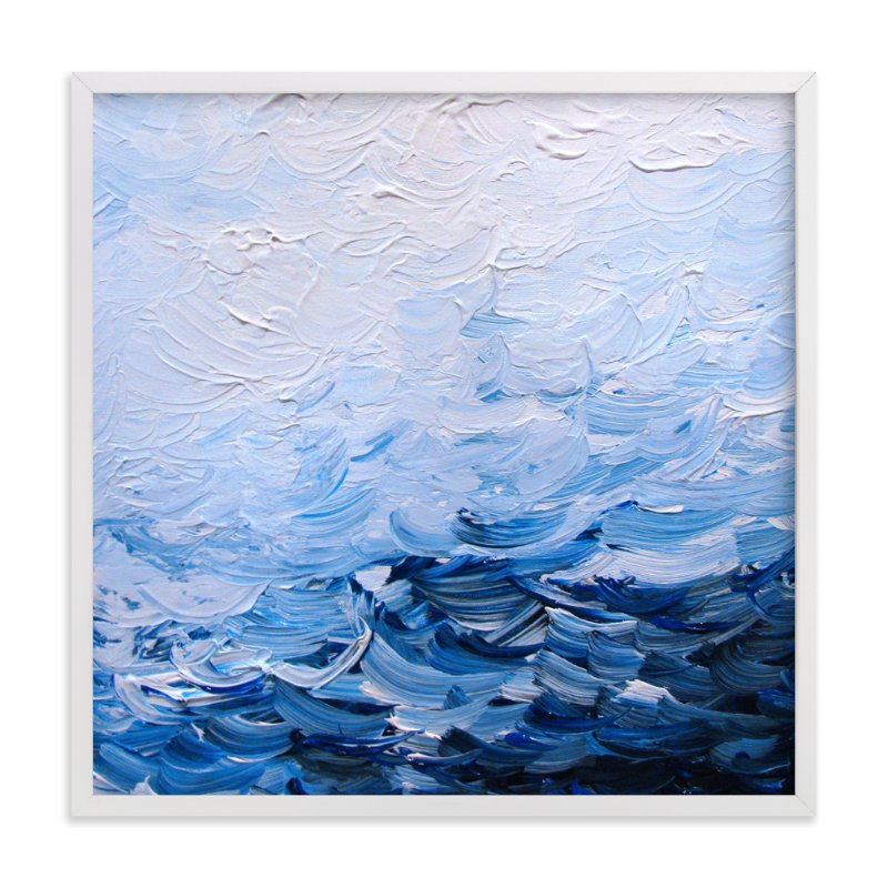 """""""Movement of Light and Water"""" - Art Print by Sarah Bradshaw in beautiful frame options and a variety of sizes."""