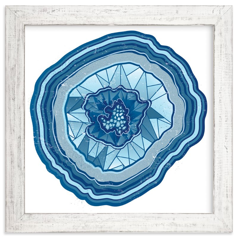 """""""Poly Agate"""" - Art Print by JoBeth Fink in beautiful frame options and a variety of sizes."""