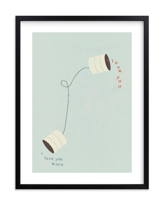 """Canned Love"" - Limited Edition Art Print by Wendy McClure in beautiful frame options and a variety of sizes."