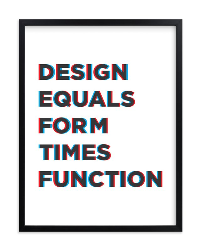 """""""Design for Fun"""" - Art Print by Joseph Manibusan in beautiful frame options and a variety of sizes."""