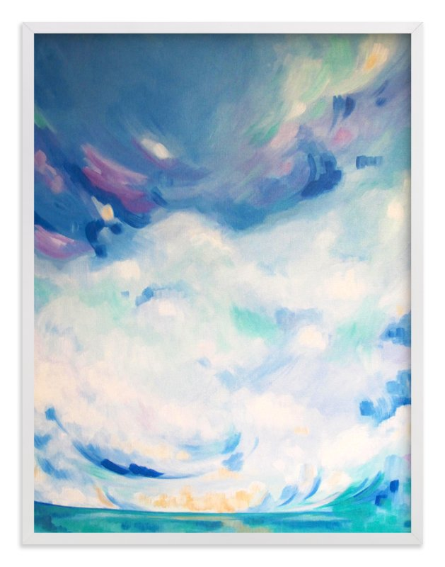 """""""beauty reflects beauty"""" - Art Print by jennifer hallock in beautiful frame options and a variety of sizes."""