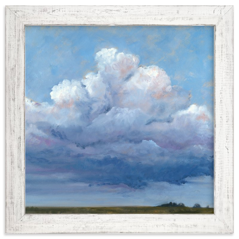 """""""Cloud Observation"""" - Art Print by Stephanie Goos Johnson in beautiful frame options and a variety of sizes."""