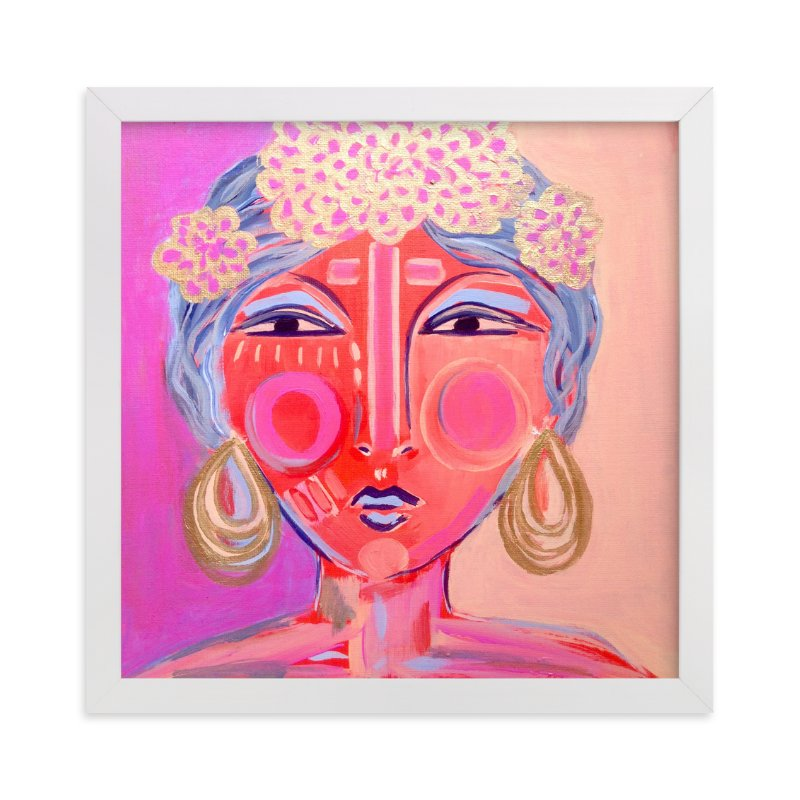 """""""Idalia"""" - Art Print by Juniper Briggs in beautiful frame options and a variety of sizes."""