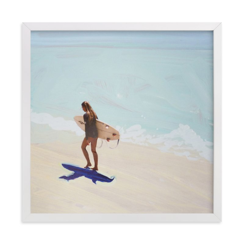 """""""Surfer Bae 1"""" - Art Print by Annie Seaton in beautiful frame options and a variety of sizes."""