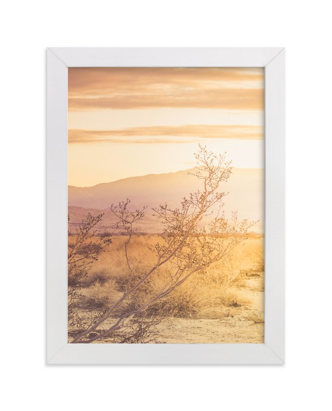 """""""Desert Roadtrip"""" - Art Print by Lisa Sundin in beautiful frame options and a variety of sizes."""