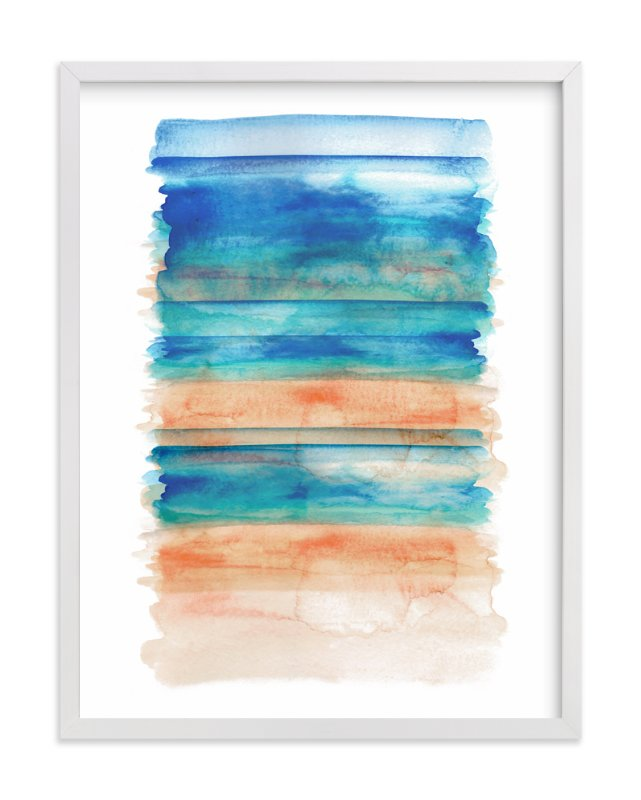 """""""Washed Out"""" - Art Print by Sara Berrenson in beautiful frame options and a variety of sizes."""