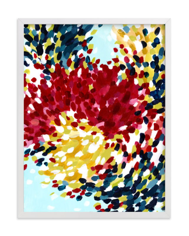 """Winter Bloom I"" - Art Print by Katie Craig in beautiful frame options and a variety of sizes."