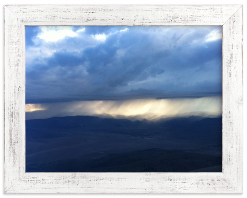 """""""Rain over the Sierra Nevada"""" - Limited Edition Art Print by Jeff Vilkin in beautiful frame options and a variety of sizes."""