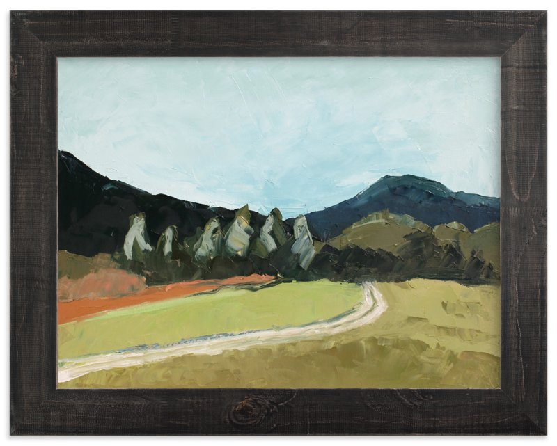 """Blue Hills"" - Art Print by Owen Design Studio in beautiful frame options and a variety of sizes."