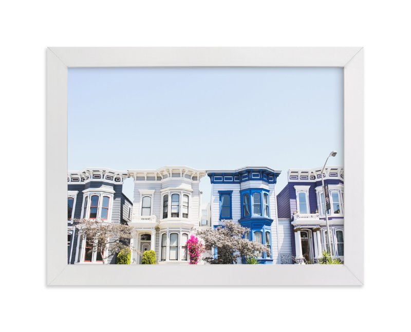 """""""Painted Ladies"""" - Art Print by Annie Montgomery in beautiful frame options and a variety of sizes."""