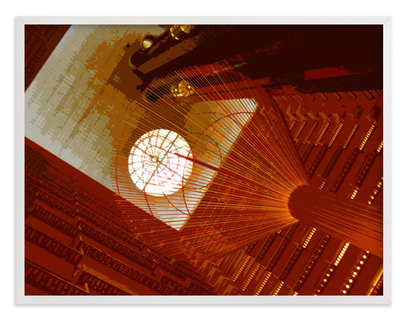 """""""Hotel Atrium"""" - Art Print by Jeff Preuss in beautiful frame options and a variety of sizes."""