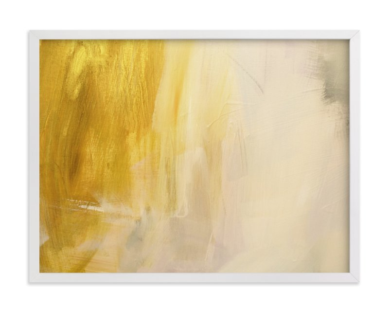 """In Gold"" - Limited Edition Art Print by Nell Waters Bernegger in beautiful frame options and a variety of sizes."