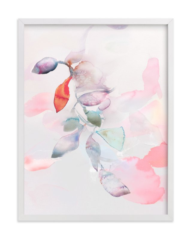 """Foliage Trails 2"" - Art Print by Marta Spendowska in beautiful frame options and a variety of sizes."
