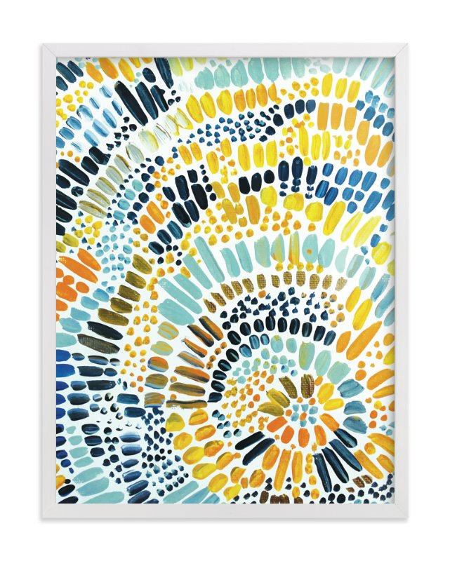"""Sun Drop"" - Art Print by Holly Royval in beautiful frame options and a variety of sizes."