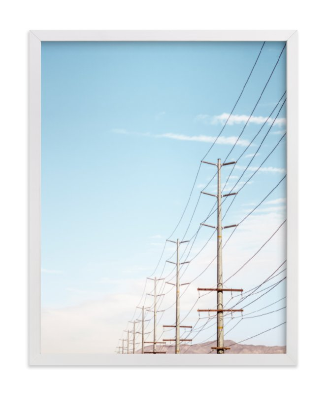 """""""Warming Winds 3"""" - Art Print by Lisa Sundin in beautiful frame options and a variety of sizes."""